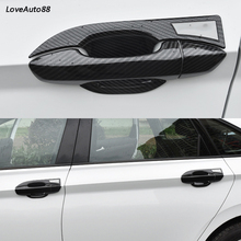 Car ABS Chrome handle Protective Cover Door Handle Outer Bowls Trim For Volkswagen VW Jetta MK7 2019 Stylings