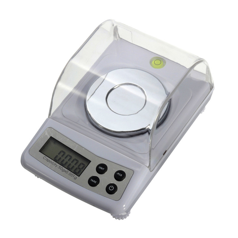 High Precision 50g 0.001g Electronic Digital Scale Jewellery Balance Gram Scales  цены