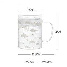 Креативная Звездная космическая стеклянная чашка с бытовой чашкой для сока для питья офисная чайная чашка Q69