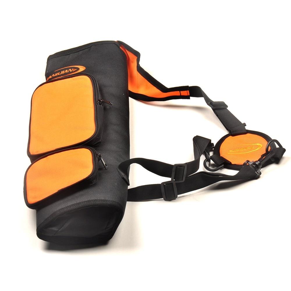 Высокое качество Оксфорд Ткань с ПВХ покрытием колчан 54.5*14*5 см в оранжевый Цвет стрелка мешок для стрельба из лука Охота Стрельба сумка