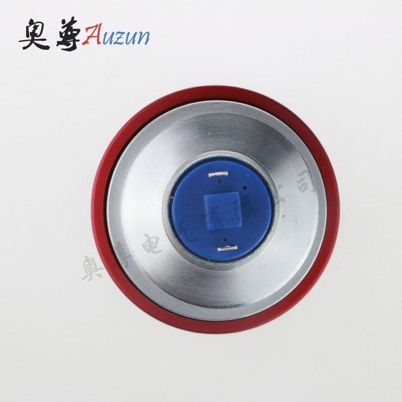 interruptor de luz de controle da de vidro cristal branco 04