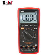kaisi K-890 Professional LCD Digital Multimeter Electrical Handheld Digital Multimeter Tester Multimetro Ammeter Multitester цена 2017