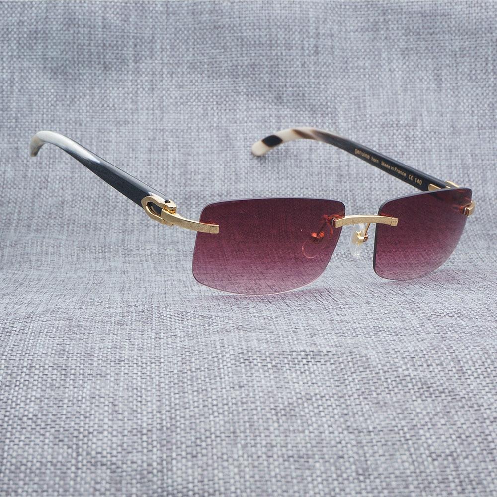 d48ffba6d8 Sunglasses Men Luxury Buffalo Horn Carter Glasses for Men Unique ...