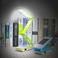 reading Solar Rechargeable LED small table lamp bedroom bedside students learn energy-saving folding eye lamp bo