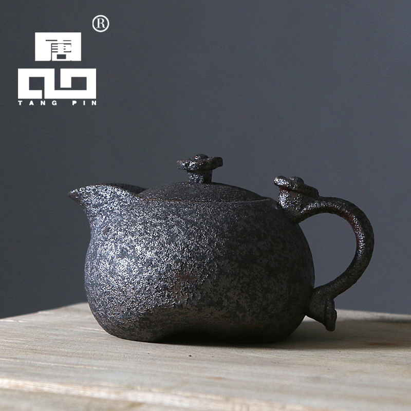 """""""TANGPIN 2017"""" nauji atvykimo rūdžių glazūruoti keraminiai arbatinuko virduliai arbatos puodui kung fu arbatos rinkinys"""