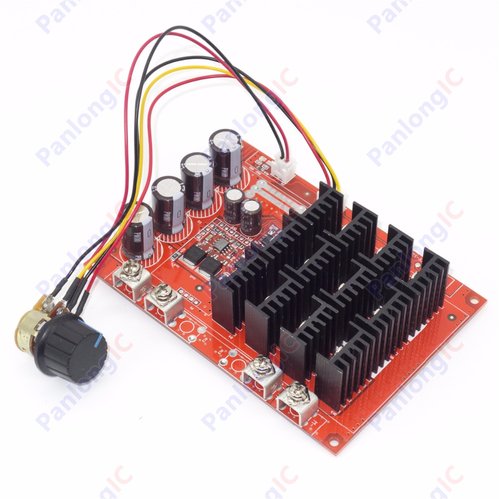 New 10 50v 60a dc motor speed control pwm hho rc for Motor speed control pwm