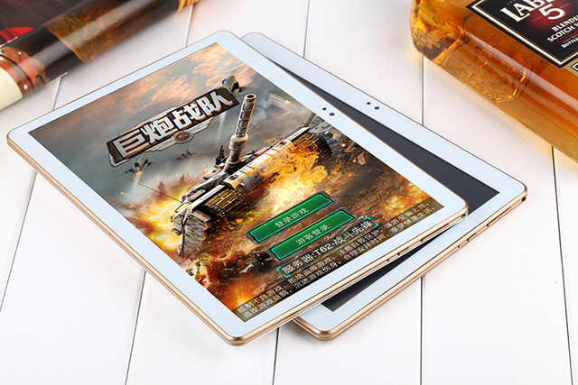 Android 5.1 4G Tablet PC 4G LTE 10 inch Octa Core 4GB RAM 32GB ROM Dual SIM Cards GPS 5.0Mp Camera with screen protector as gift