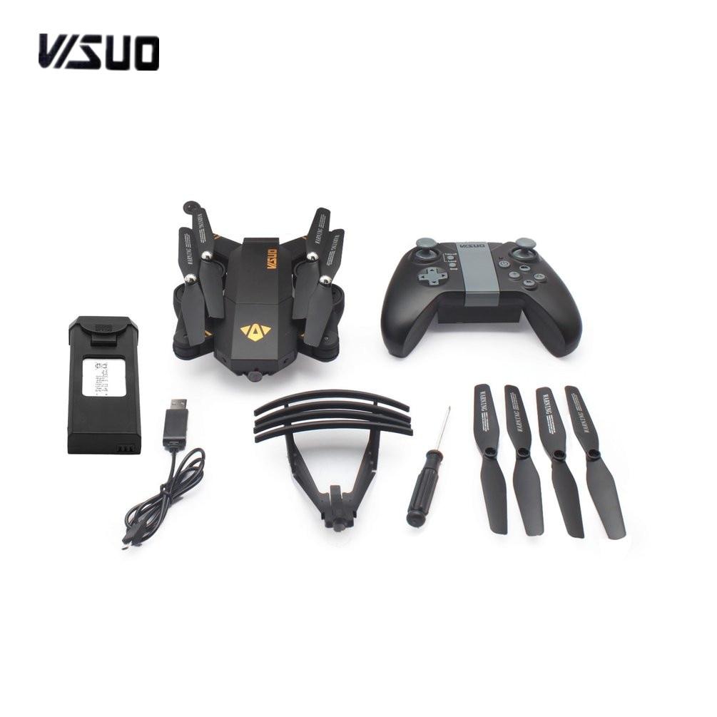 VISUO XS809HW 2,4g 720 p Faltbare FPV Selfie Drohne RC Quadcopter mit Wifi Kamera Höhe Halten Headless Modus 360'Flips