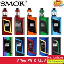 Original Smok Kit de Alien Alien 220 W Caja Mod con 3 ml TFV8 Bebé e tanque Cigarrillo Electrónico Vape Kit VS Smok G-Priv/Stick V8 Kit