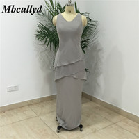 Chiffon Plus Size Mother of the Bride Dresses 2019 Elegant Mother of the bride dresses for weddings Long Formal Evening Gowns