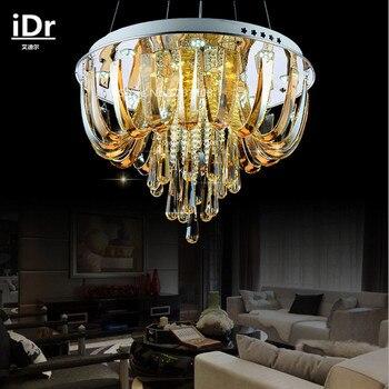 Moderne lampen minimalistischen restaurant kronleuchter kristall  led-leuchten wohnzimmer schlafzimmer beleuchtung iDr-0084