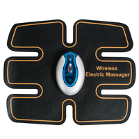 Wireless Electric Massage TENS Unit Electrotherapy Back Pain Relief ABS Fit Muscle Stimulator Massage