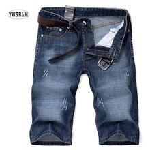 Männer Kurze Jeans männer Shorts 2017 Sommer Kleidung Marke Männliche Kurze hosen und herren denim shorts nmd Knie Leng jeans Große größe