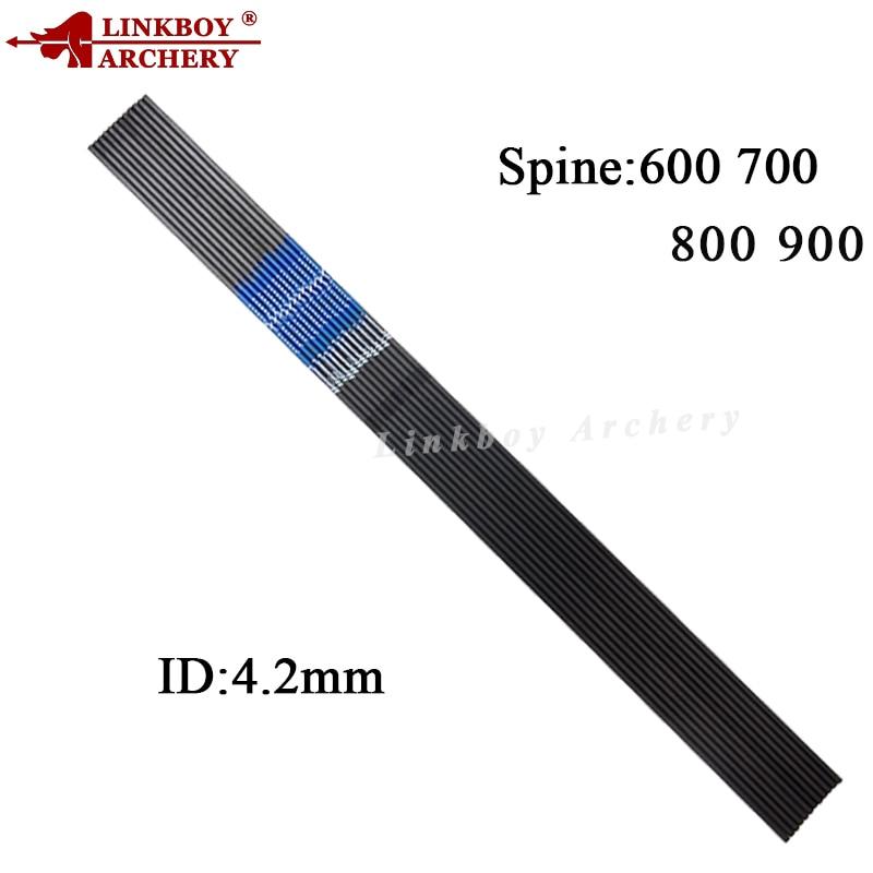 Linkboy קשתות 12pcs CE טהור חצים פחמן שדרה - ציד