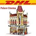2017 New LEPIN 15006 2354Pcs Creator City Street Palace Cinema Model Building Kits Blocks Bricks Compatible Kids Toys Gift 10232