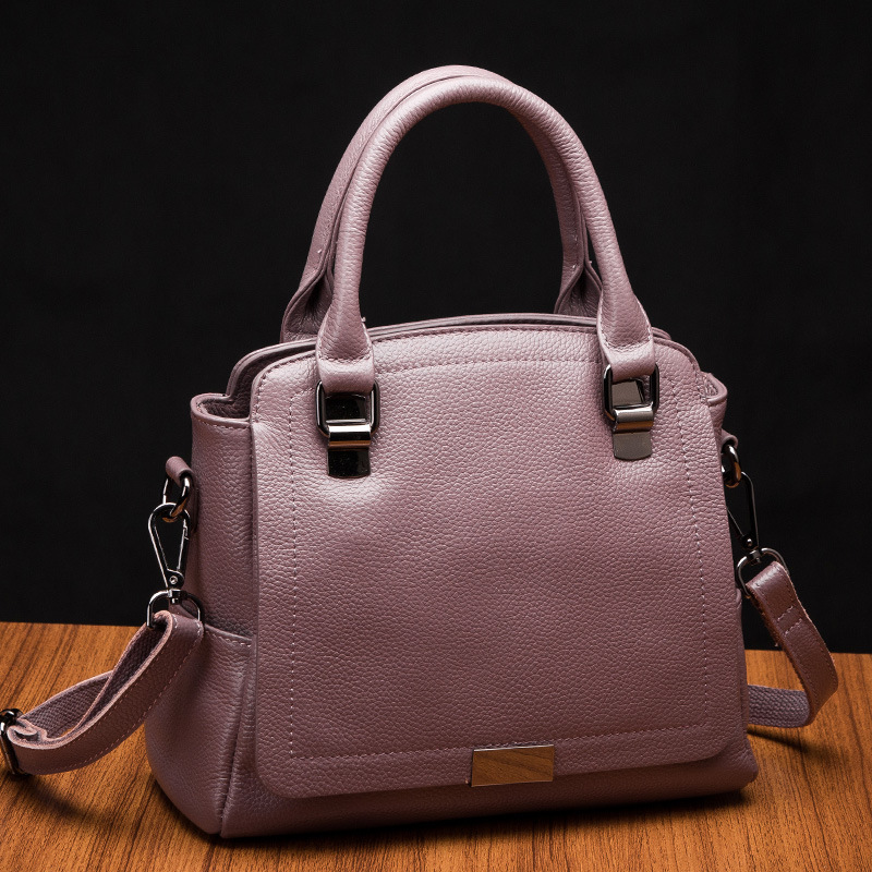Women Bag Genuine Leather Women Messenger Bag Tote Shoulder Bags Female Crossbody Bag Portable Ladies Handbag Solid Bolsas fashion genuine leather bag bolsas tassel women handbag 2015 casual crossbody bag popular shoulder bag new women messenger bags