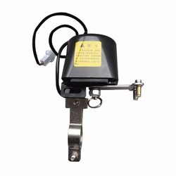 Manipulador automático de agua de Gas tuberías válvula de cierre alarma DC8-16V Dispositivo de seguridad para cocina y baño Venta al por mayor