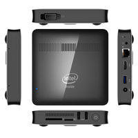 KimTin Z8350 מחשב מיני Intel Atom 1.92 GHz 2 GB RAM 32 GB ROM windows 10 Bluetooth 4.0 4 K 5.8 GHz WiFi 1000 M LAN win10 הטלוויזיה החכם Box