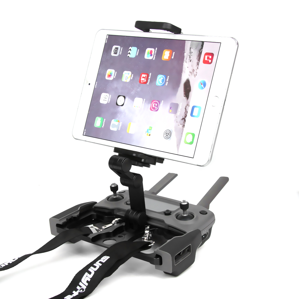 718ab5b7d42 New Remote Controller Mount Smartphone Tablet CrystalSky Monitor Bracket  Clip Holder Aluminum for DJI MAVIC 2 PRO AIR Spark Drone