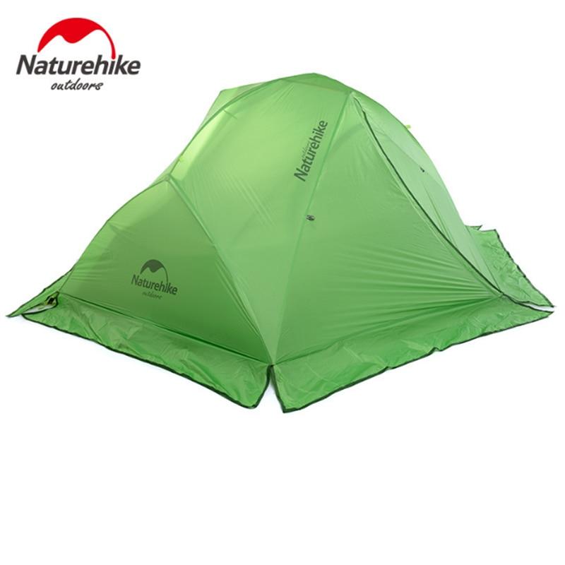 Naturehike 2 человека двухслойная палатка на открытом воздухе непромокаемые четыре сезона палатка Кемпинг Альпинизм палатка