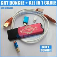 GRT ключ мощный + все в 1 кабель для Qualcomm инструмент IMEI ремонт удалить FRP для Samsung Huawei HTC Nokia LG SONY OPPO Vivo