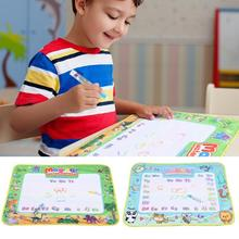 80x60cm Colorful Doodle Painting Drawing Board Preschool Tool for Kids Toy Educational Toys For Children Creativity Kids Craft