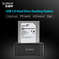 ORICO USB 3 0 To SATA External Hard Drive Docking Station For 2 5 3 5