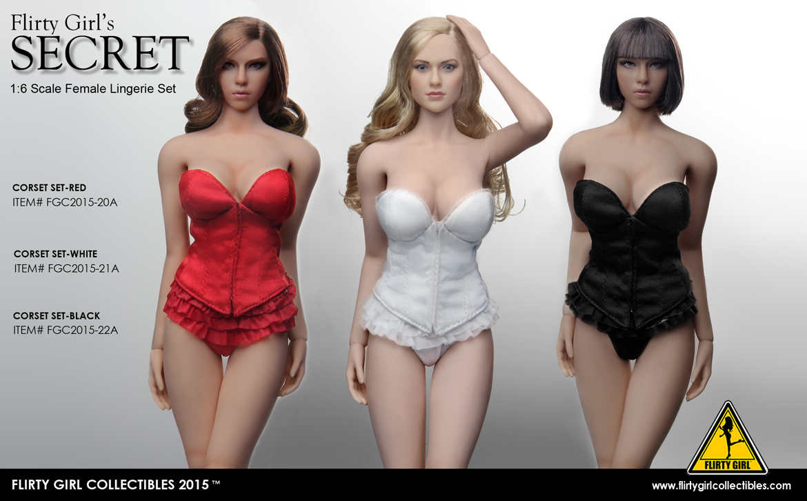 Objective Flirty Girl Collectibles Fgc2015-20a 1/6 Secret Corset Lingerie Set For 12 Collectible Action Figure Diy Discounts Sale Back To Search Resultstoys & Hobbies