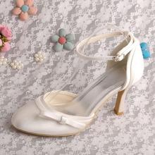Wedopus MW232รองเท้าสายรัดข้อเท้าผู้หญิงแต่งงานรองเท้าแตะปิดนิ้วเท้าD Ropshipping