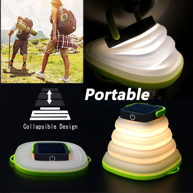 Portable Solar Camping Light  3