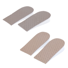 2 Pairs Invisible Half insole Shoes Insole Insert Increased Height Taller Lift Half Pads soumit height increased insole massage comfortable insole half heel lift insole sport insole for men women foot care pain relief