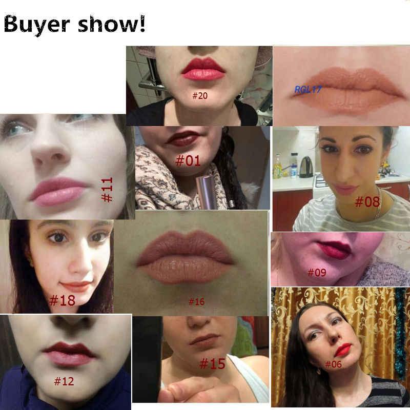 O. שני. O מותג הנמכר ביותר יופי איפור שפתון פופולרי אדום עירום צבעים מט מקל שפתיים לאורך זמן מט שפות קוסמטיקה
