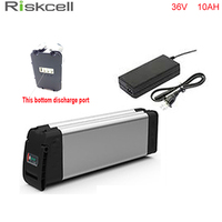 Bottom Discharge Port 36V 500w Electric Bike Lithium Ion Battery 36V 10AH Lithium Battery With Slim