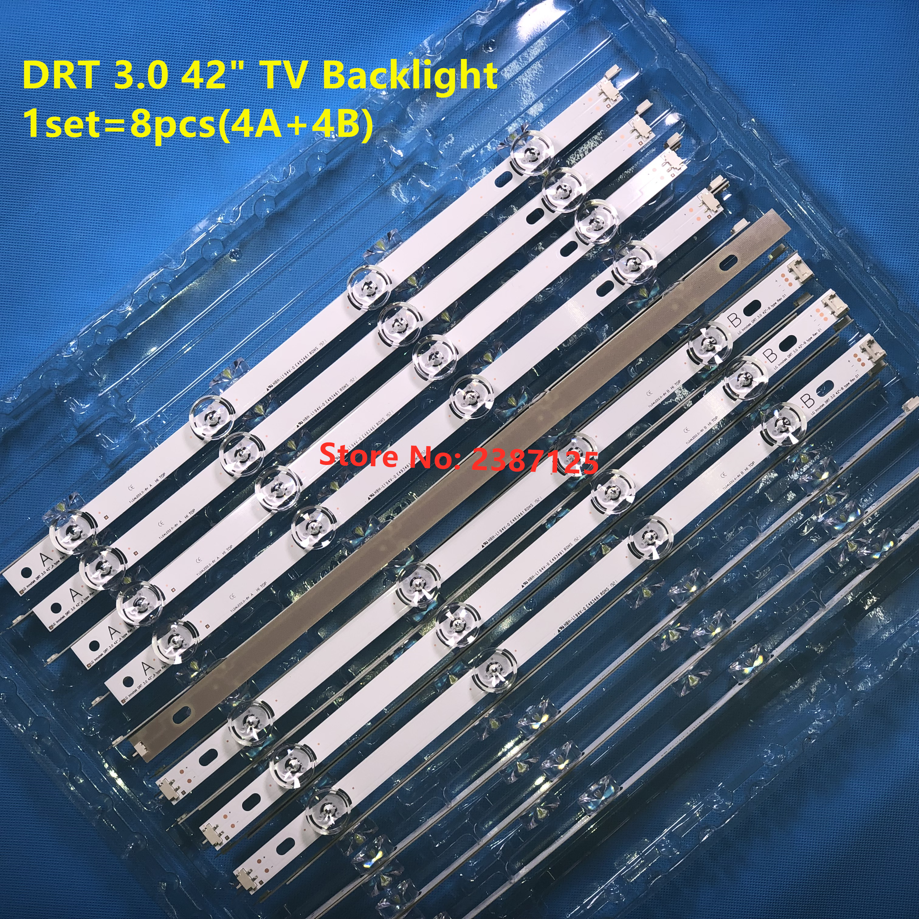 LED backlight strip for Lg drt 3.0 42 DIRECT AGF78402101 NC420DUN VUBP1 T420HVF07 42LB650V 42LB561U 42LB582V 42LB582B 42LB5550-in LED Bar Lights from Lights & Lighting
