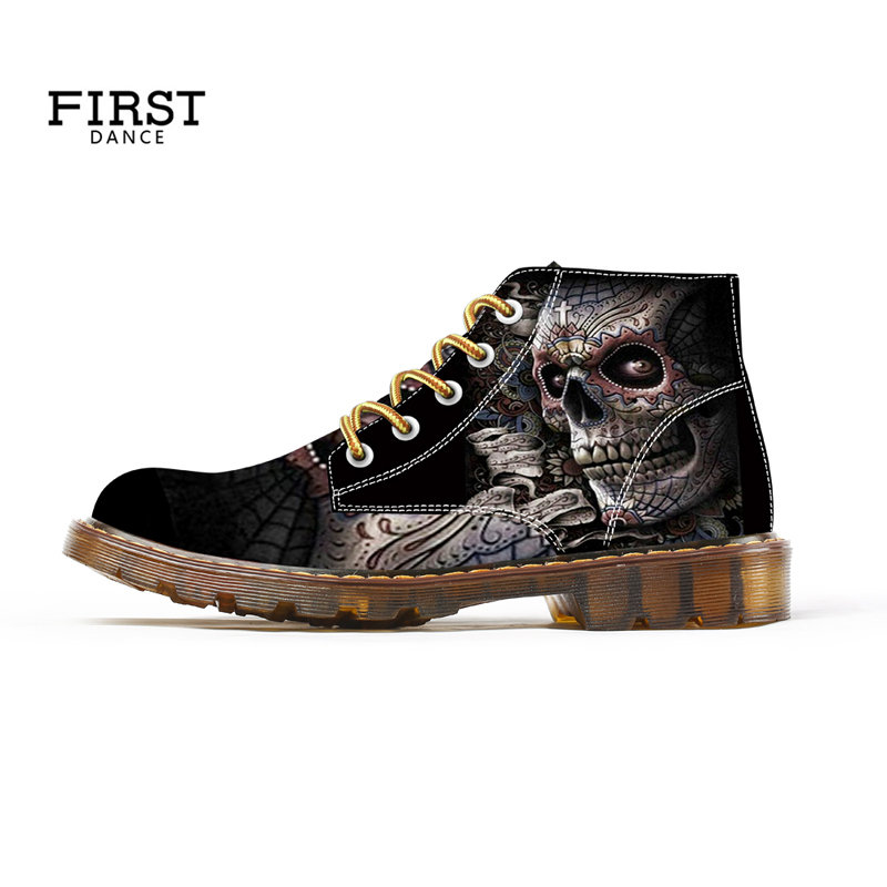 Custom Shoes Big Size High Top Outdoor Martin Boots Spring 3D Printing Canvas Oxford Rubber Lightweight Sport Footwear 48 49 50