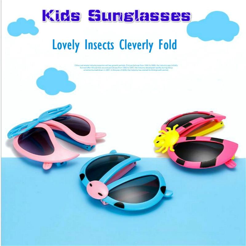 Ladybug Patterns Glasses Fashion Sunglasses Kids Cosplay Action Children Toys Hobby Gift Cartoon Fold Glasses Toys For Children