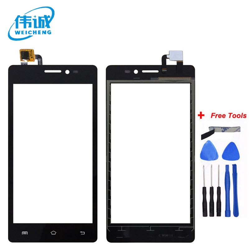 WEICEHNG For <font><b>Prestigio</b></font> Wize C3 PSP 3503 DUO PSP3503 Touch Screen Panel Digitizer Front Glass Sensor Replacement Touchscreen image