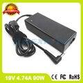 Зарядное устройство для ноутбуков  19 в  4 74 А  90 Вт  адаптер переменного тока  для asus X55  Z9300E  X5M  X70F  X73V  Z53P  Z70V  Z83F  Z92J  A38N  A54H  A555LP  X75VC
