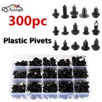 300Pcs 15 Size Car Auto Push Pin Rivet Trim Clip Panel Body Interior Assortment Set Retainer