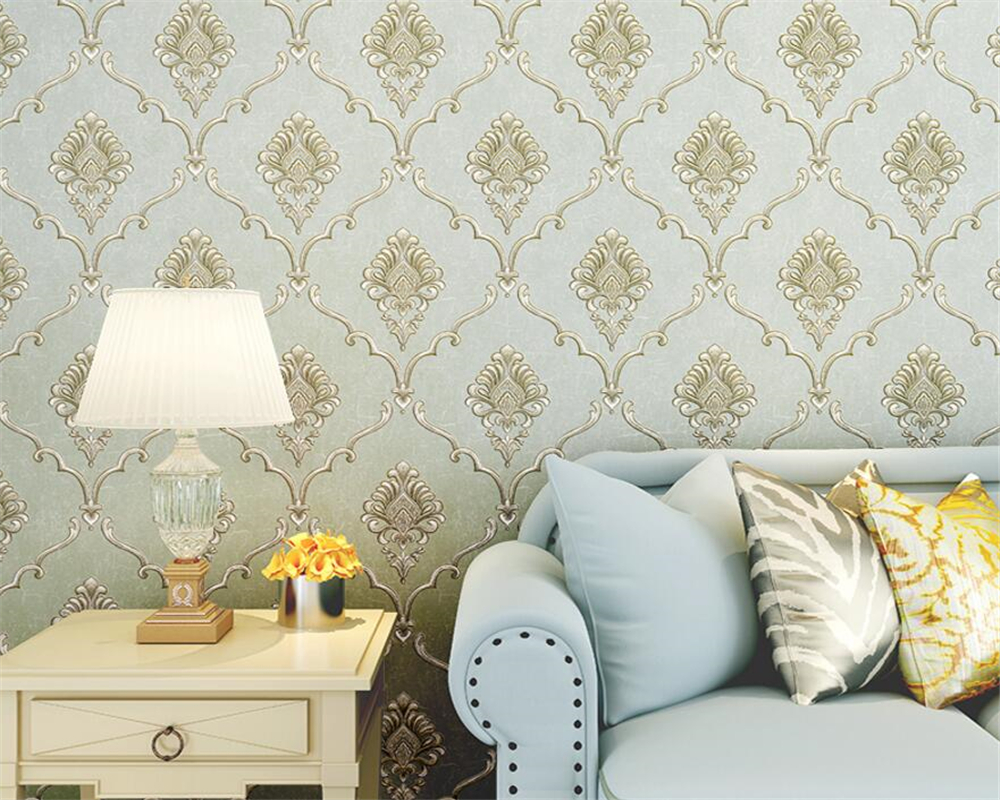 Beibehang papel de parede wallpaper home decor European TV bedroom 3D living room background wallpaper for walls 3 d tapety beibehang golden fountain fair 3d photo wallpaper mural living room bedroom corridor tv background wallpaper for walls 3 d