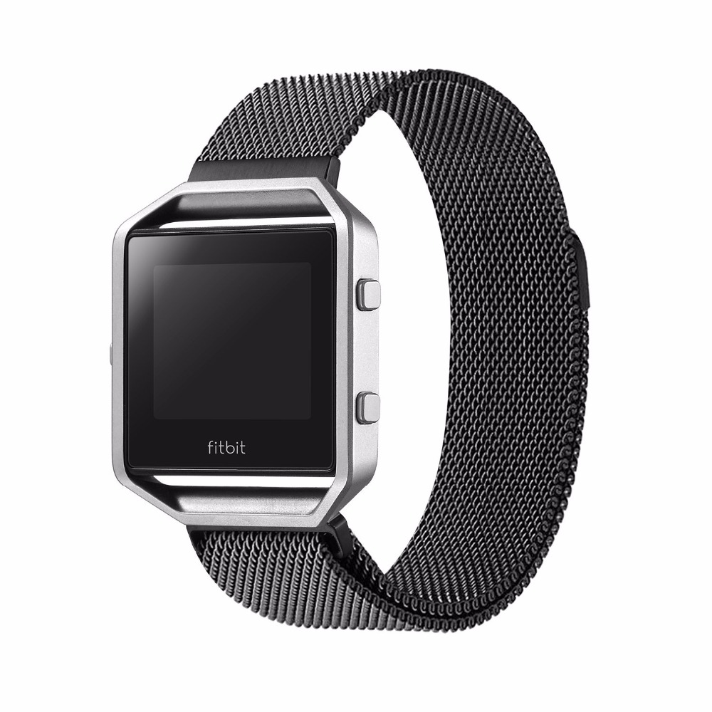 Fitbit Blaze Accessory Band Milanese loop stailess steel Bracelet Strap for Fitbit Blaze tracker Smart Fitness Watch crested milanese loop strap metal frame for fitbit blaze stainless steel watch band magnetic lock bracelet wristwatch bracelet
