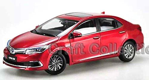 ФОТО 1:18 Toyota Corolla Double Engine 2015 Hot Selling Diecast Model Car Passenger Car Auto  Modell