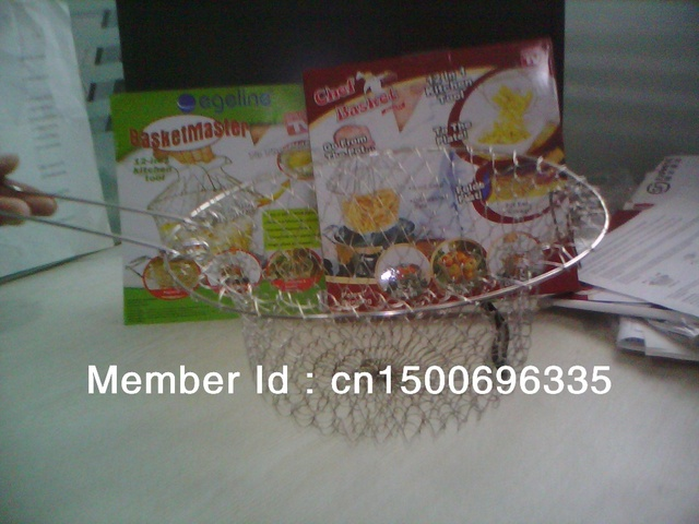 Chef Basket Deluxe Kitchen Colander Cooking Expandable as seen on TV