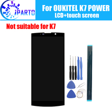 6.0 Inch Oukitel K7 Power Lcd scherm + Touch Screen 100% Originele Getest Lcd Digitizer Glass Panel Vervanging Voor K7 power