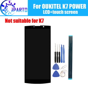 Image 1 - 6.0 inch OUKITEL K7 POWER LCD Display+Touch Screen 100% Original Tested LCD Digitizer Glass Panel Replacement For K7 POWER