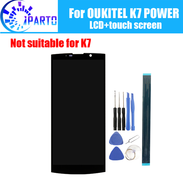 6.0 inch OUKITEL K7 POWER LCD Display+Touch Screen 100% Original Tested LCD Digitizer Glass Panel Replacement For K7 POWER
