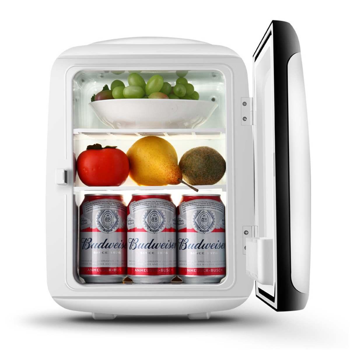 13L Mini Fridge Refrigerator Dual-core 12V /110V Portable Car Home Freezer Frigo Nevera Dormitory Apartment Refrigerated Box