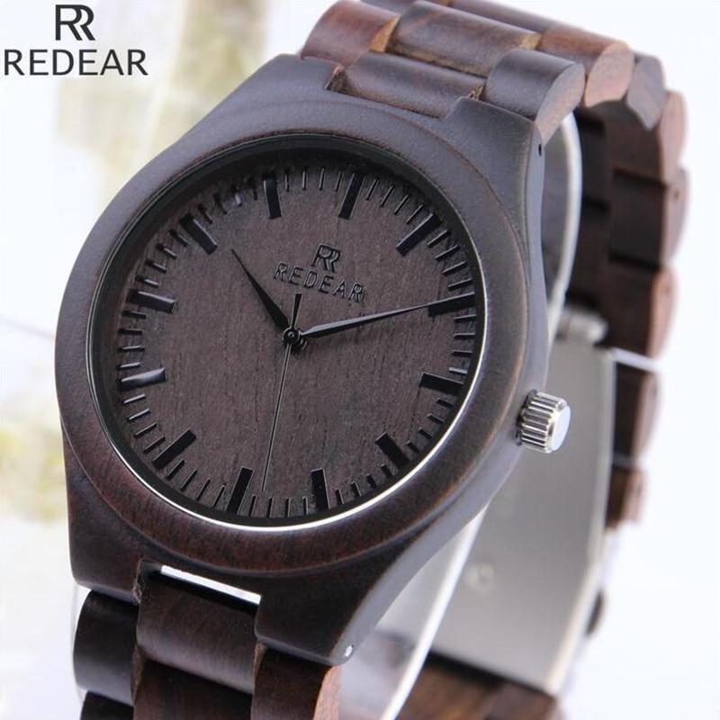 REDEAR901 font b all b font bamboo material luxury men s font b watch b font