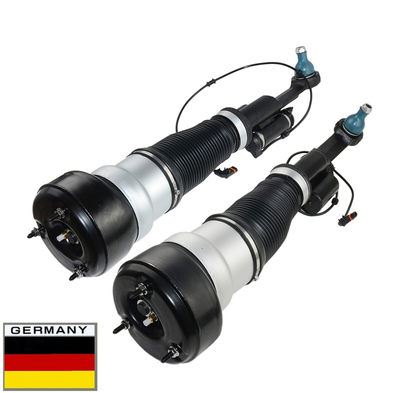 New Pair Shock Absorber Front Suspension For Mercedes W221 S320 350 450 S500 CL500 4Matic