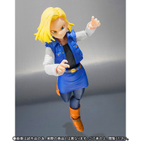 Dragon Ball Animation Android 18 Lazuli PVC Action Figure Collectible Model Toy Boxed Gifts for Children